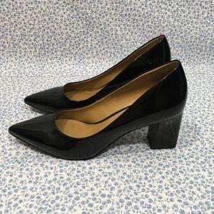 14th & Union Black Patent Leather Heels